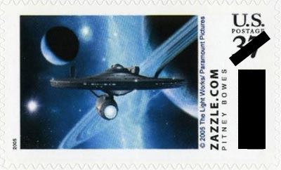 Star Trek Scotty Stamp
