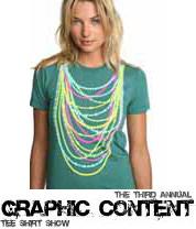 Graphic T-shirt art show