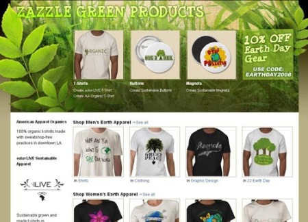 Zazzle Earth Center