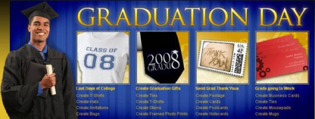 graduation center on Zazzle