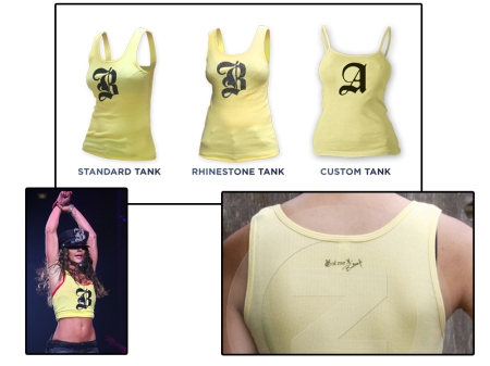 Britney Spears Exclusive Tank Top