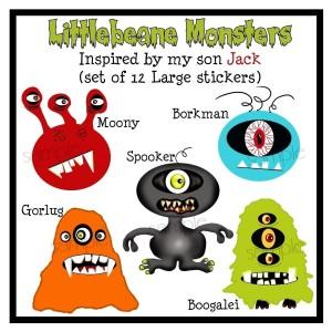 Littlebeane Monsters
