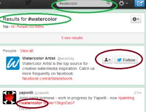 TwitterSeachWatercolor