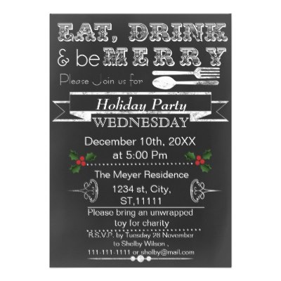 chalkboard_holiday_party_invitation