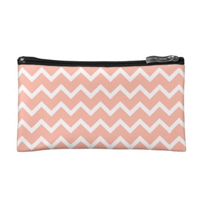 coral_and_white_zig_zag_pattern_makeup_bag