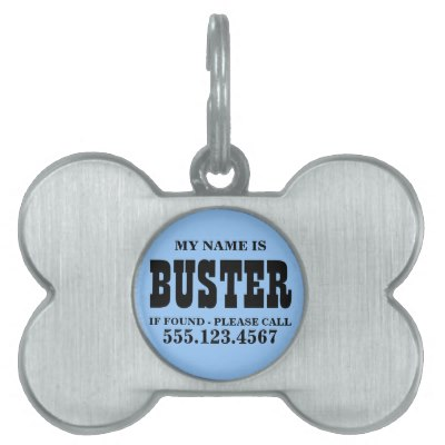custom_blue_dog_tag_pet_id_tags