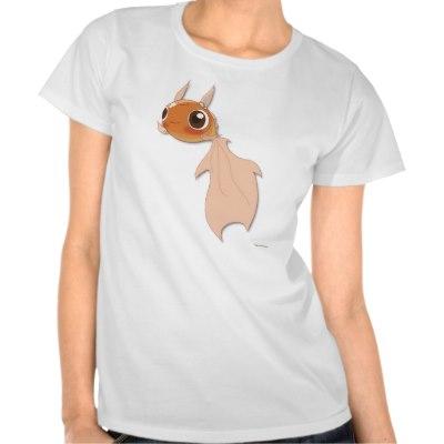 funny_goldfish_tee_cute_cartoon_character_t_shirt