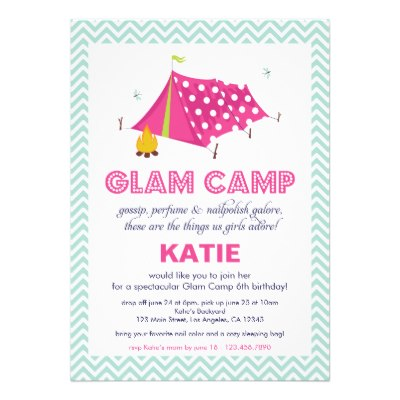 glam_camp_makeover_girls_birthday_invitation_card