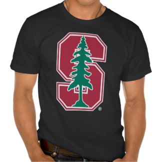 stanford cardinal block s with tree shirt