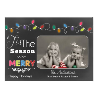 tis_the_season_chalkboard_holiday_photo_card