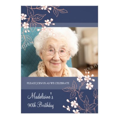 90th_birthday_party_invitations_blue_coral_flowers