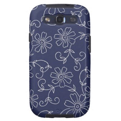 blue_and_white_floral_samsung_galaxy_s_case