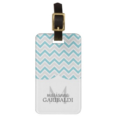 chevron_blue_and_modern_personalized_bag_tags