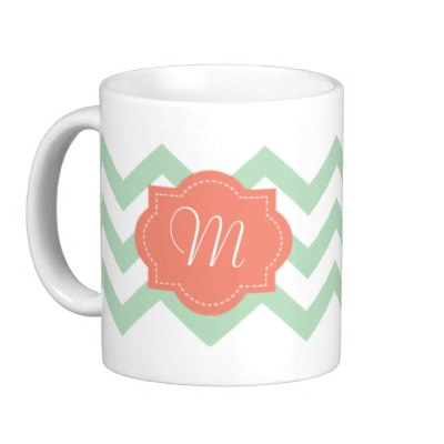 chevron_chic_monogram_mug