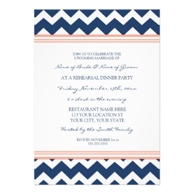 coral_blue_chevron_rehearsal_dinner_party_invitation