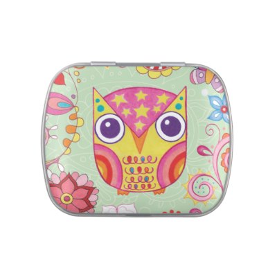 cute_colorful_owl_candy_tin