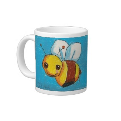 dinas_bumble_bee_double_image_jumbo_size_specialty_mug