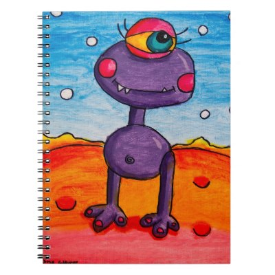 dinas_girl_alien_notebook