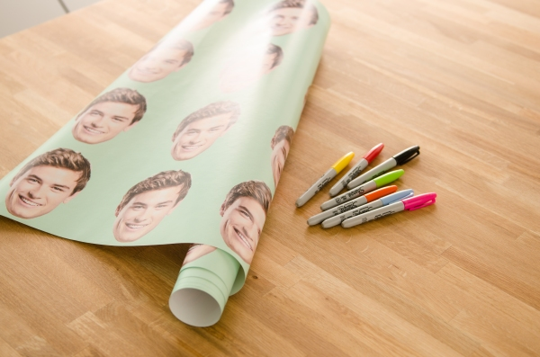 DIY Custom Wrapping Paper #zazzle