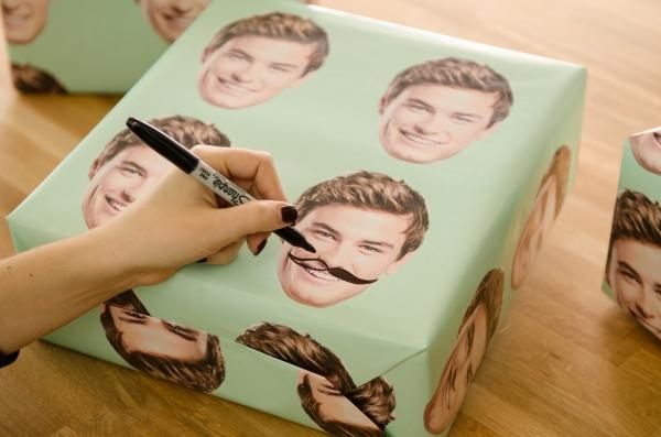 DIY Custom Wrapping Paper #zazzle