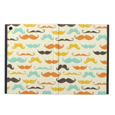 mustache_pattern_3_case_for_ipad_air
