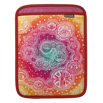 psychedelic_cosmic_eye_mandala_ipad_sleeve