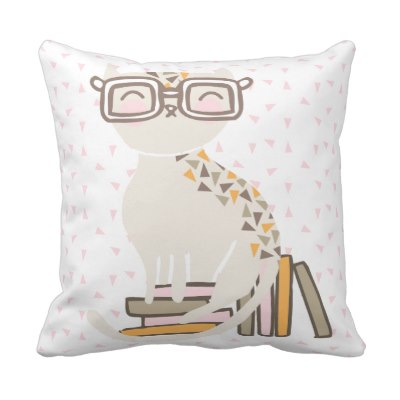 smart_kitty_throw_pillow