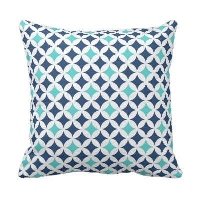 teal_blue_geometric_pattern_decorative_pillow