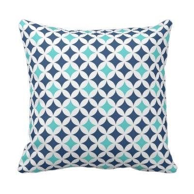 teal_blue_geometric_pattern_decorative_pillow
