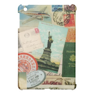vintage_travel_collage_ipad_mini_case