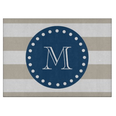 beige_white_stripes_pattern_navy_blue_monogram