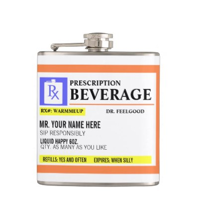 funny_prescription_label_beverage_flask