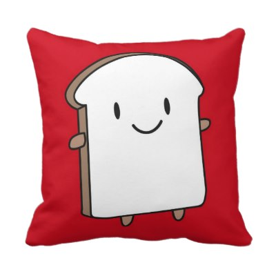 happy_bread_slice_throw_pillowsjpg