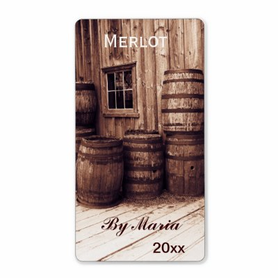 old_wine_barrels_wine_bottle_label